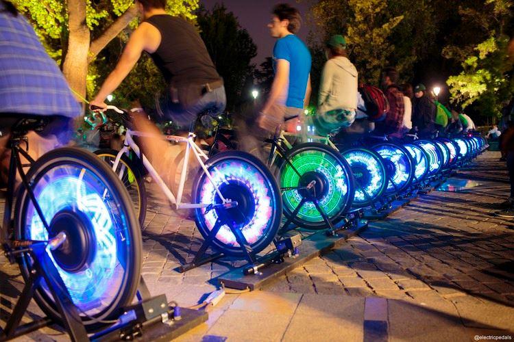 Cycle Revolution Pedal-Powered Cinema