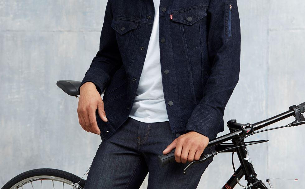Image result for levi jacket jacquard
