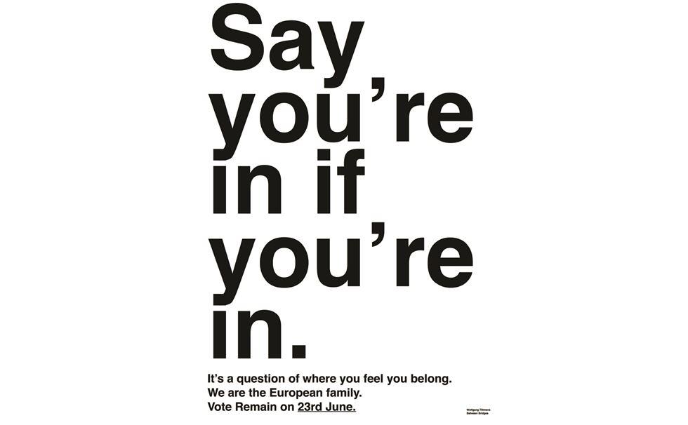 Posters designed for the pro-EU / anti-Brexit campaign