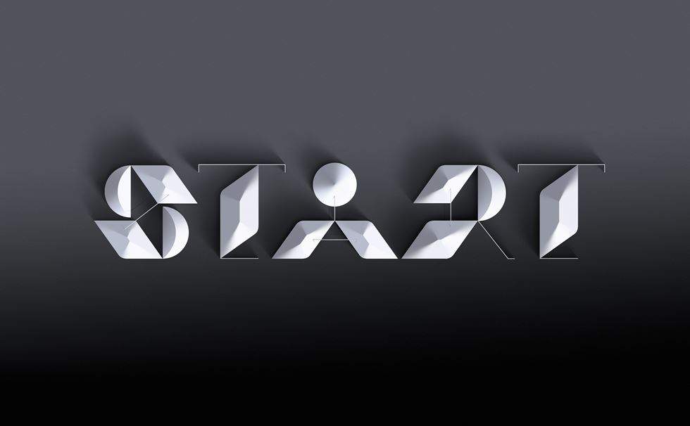 Graphic Design Typography 3d