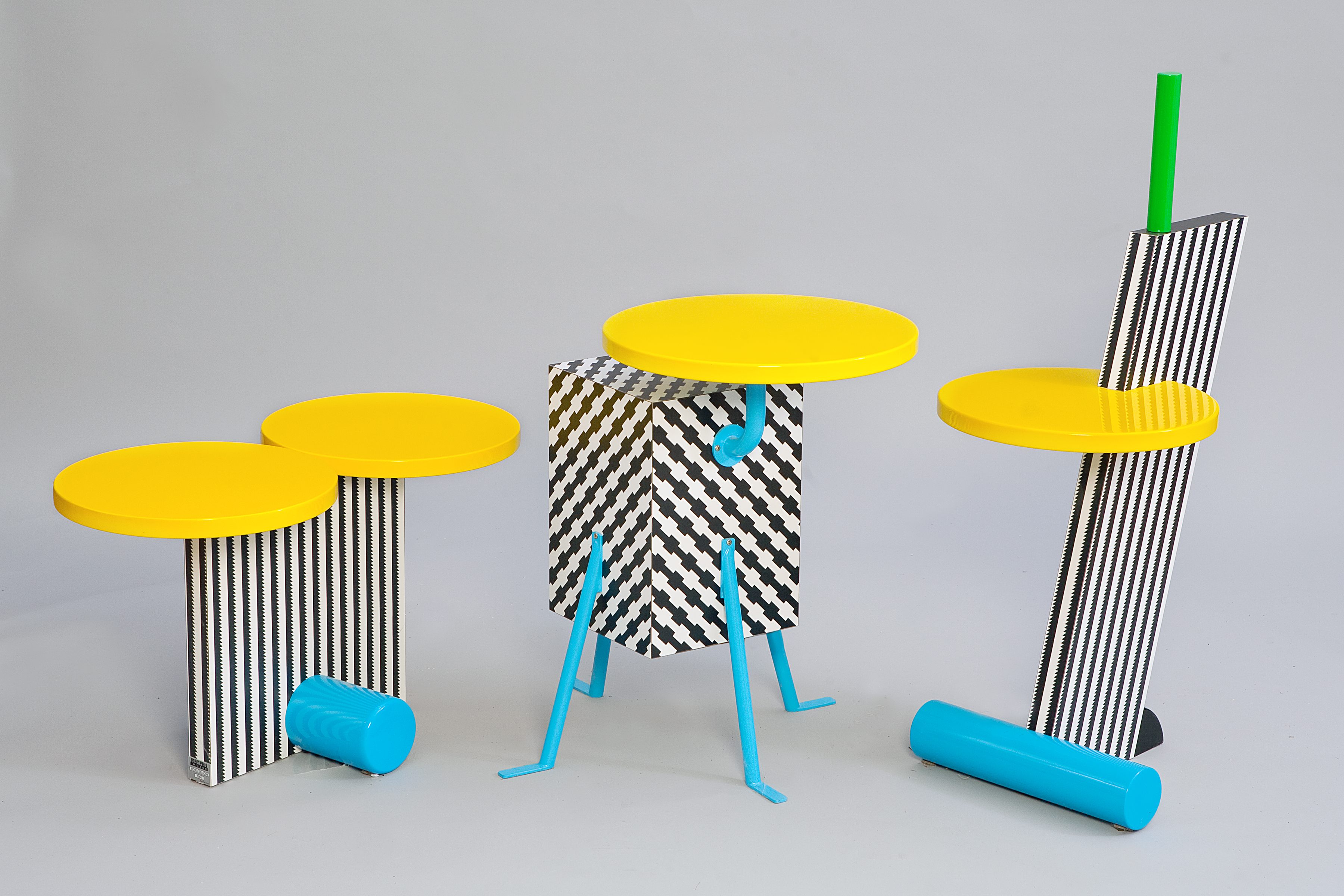 research find five different types of furniture that memphis designed which one is your favourite group e