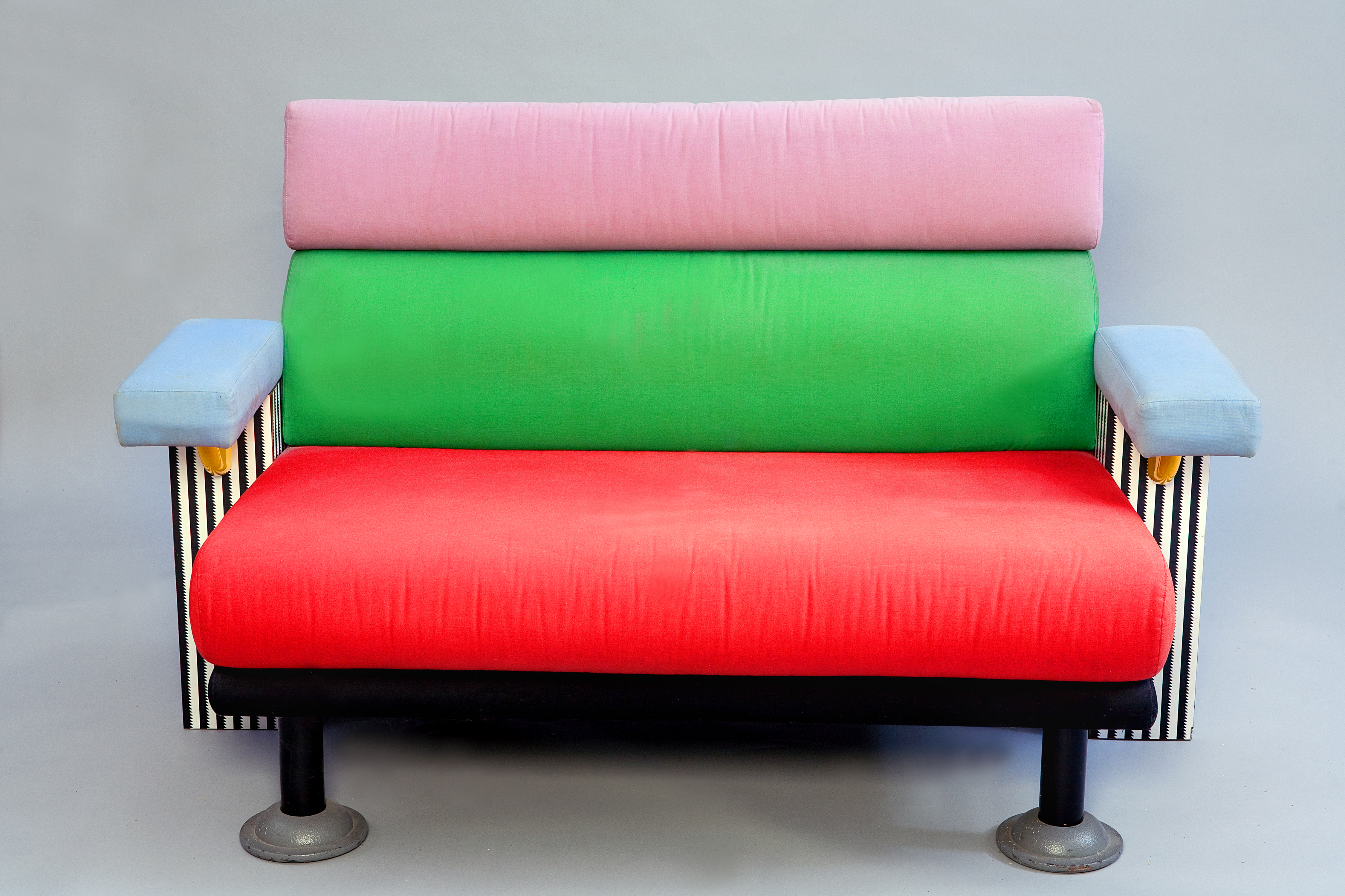 discuss what do you think of the memphis furniture is it fun or silly to use such bold colours and shapes on large objects group